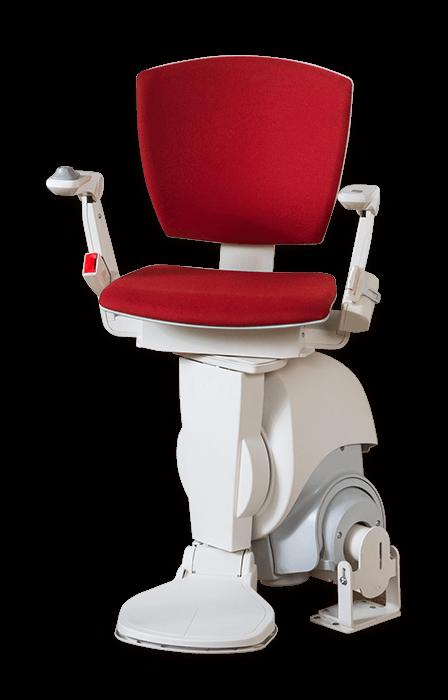 Otolift-Modul Air 彎曲型樓梯升降椅