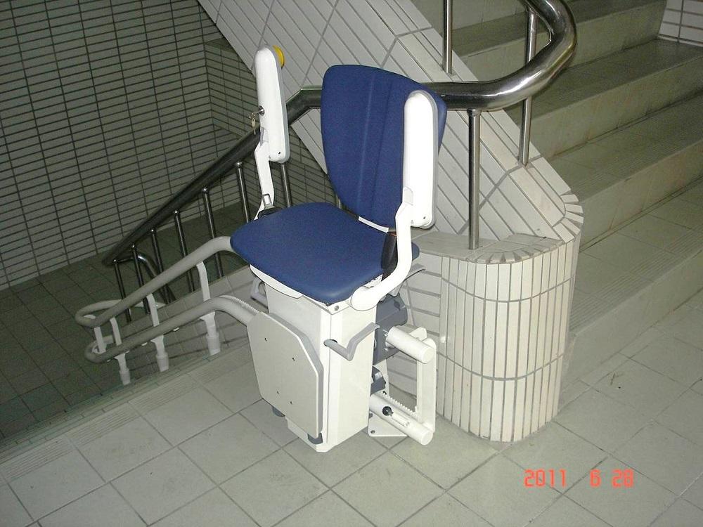 陽明工商樓梯升降椅安裝
