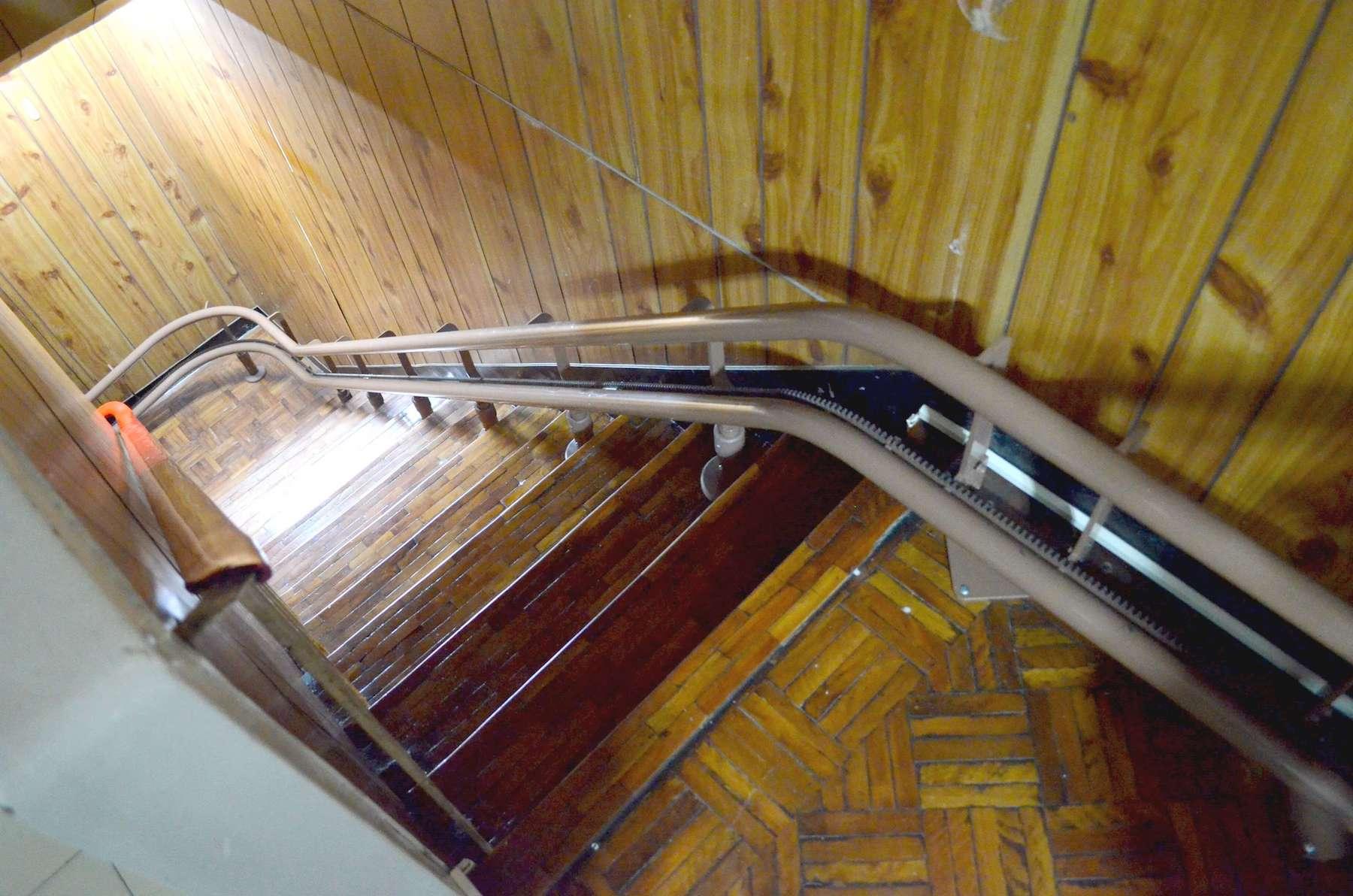 Otolift樓梯升降椅軌道