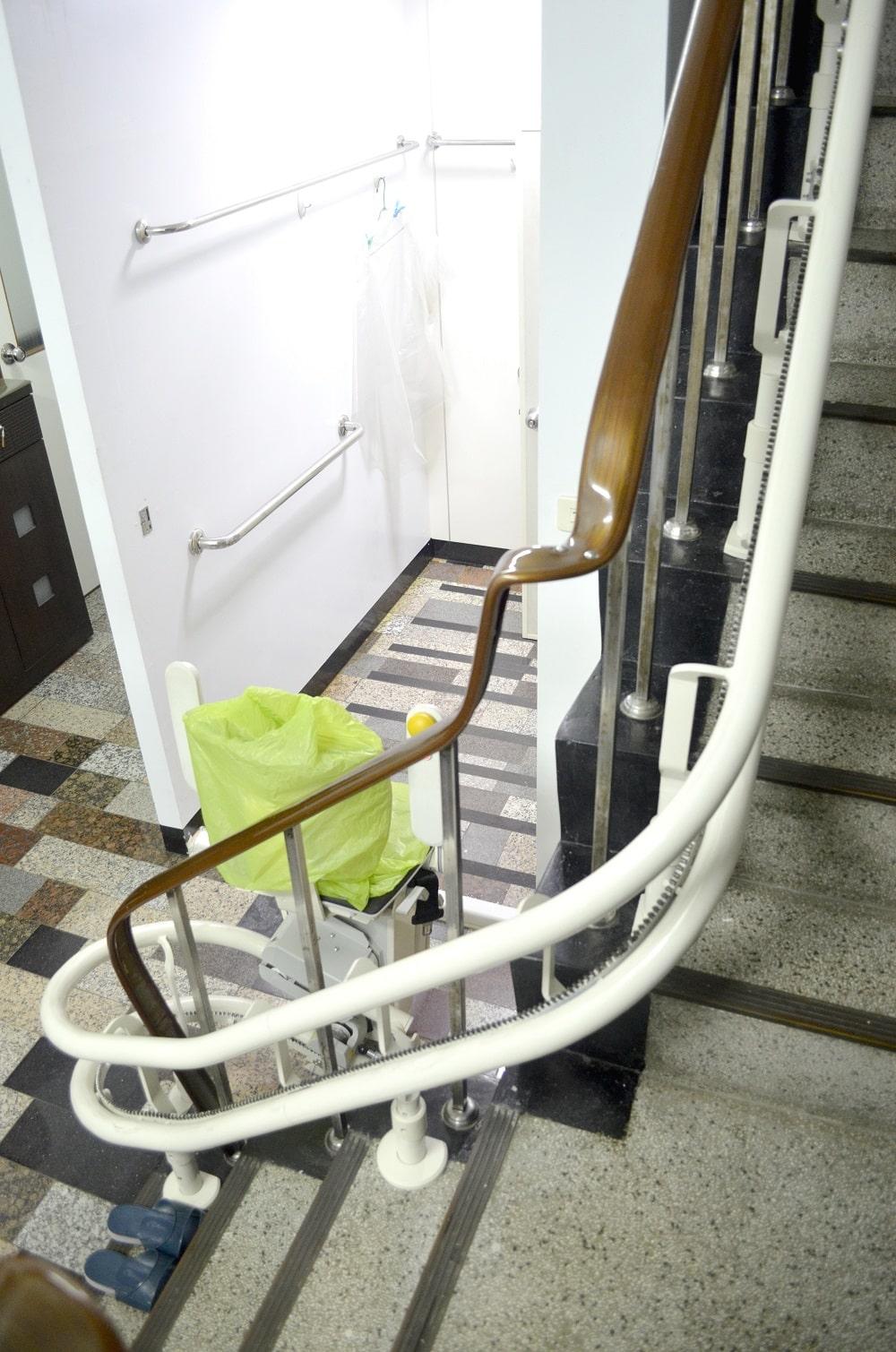 樓梯升降椅安裝案例