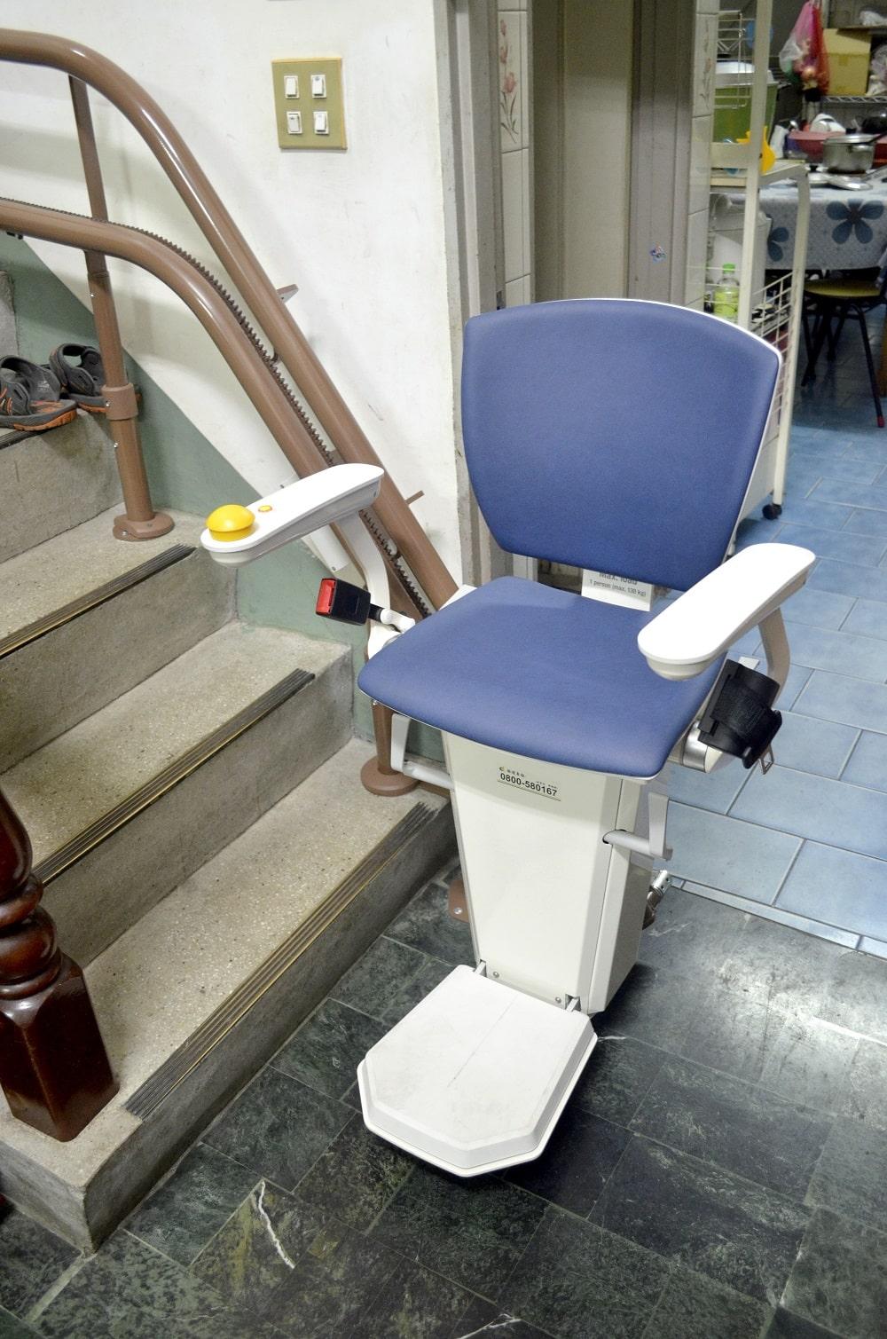 泓電樓梯升降椅丈量規劃