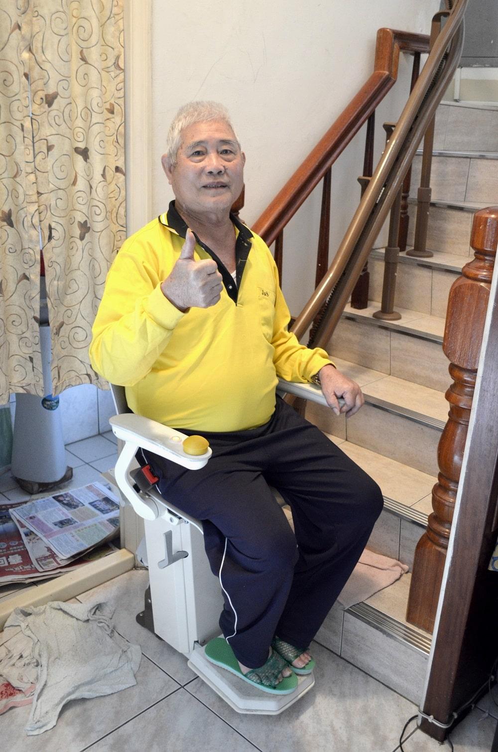 客戶都說讚的泓電樓梯升降椅