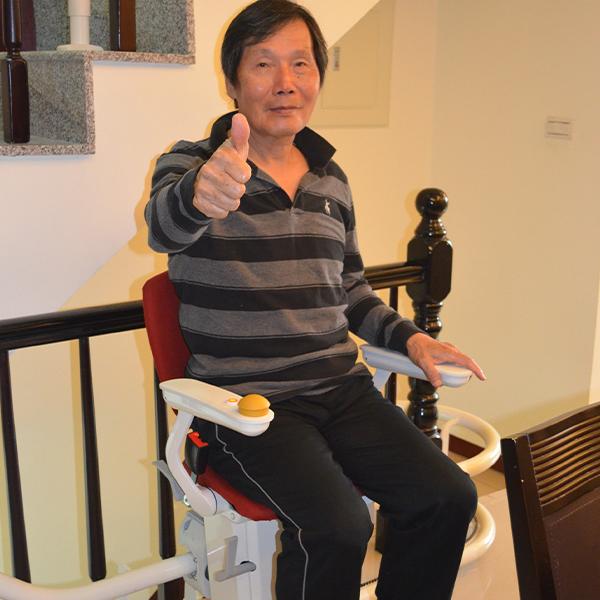 輕鬆坐著爬樓梯~足感心 給家人最幸福的小確幸